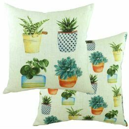 Pots of Nature Succelents Cushion DPB147