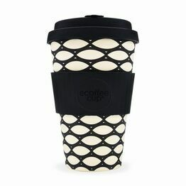 Ecoffee Cup Reusable Travel Cup Basketcase 400ml