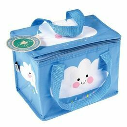 Recycled Insulated  Lunch Bag - Happy Cloud