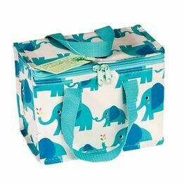 Recycled Insulated Lunch Bag  - Elvis Elephant Design