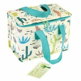 Recycled Insulated Lunch Bag  - Desert in Bloom Design