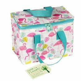 Recycled Insulated Lunch Bag - Flamingo Bay Design