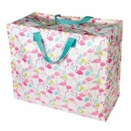 Recycled Storage Bag Jumbo Flamingo Bay Design 26941