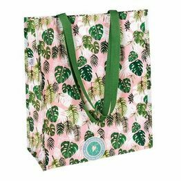 Recycled Shopping Bag Tropical Palm Design 27934