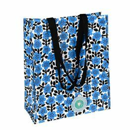 Recycled Shopping Bag Astrid Flower Design 27904