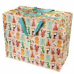 Recycled Storage Bag Jumbo Colourful Creatures Design 26558