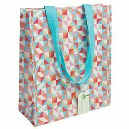 Recycled Shopping Bag Geometric Design 25643