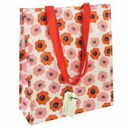 Recycled Shopping Bag Poppy Design 26574