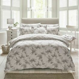 Holly Willoughby Fauna Charcoal Bedding