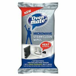 Oven Mate Steam Clean Microwave Wipes Pack of 25