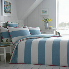 Seasalt Cornish Stripe Duvet Cover Single Bed