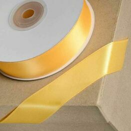 Club Green Satin Ribbon Marigold Yellow