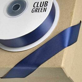 Club Green Satin Ribbon Navy Blue