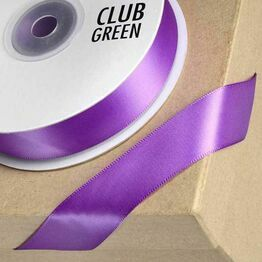 Club Green Satin Ribbon Purple
