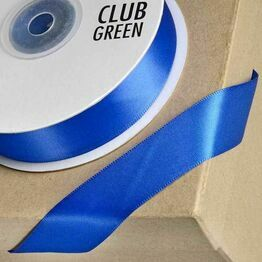 Club Green Satin Ribbon Royal Blue