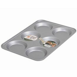 Baker & Salt Non-Stick 6 Hole Yorkshire Pudding Tray 55690
