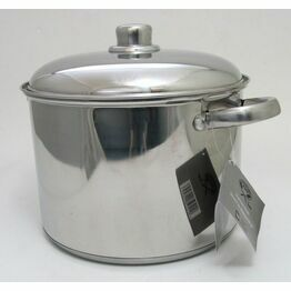 Stainless Steel Stockpot & Lid 26cm