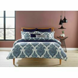 Christy Siam Indigo Duvet Cover Set