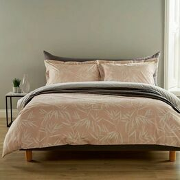 Christy Bamboo Blush Duvet Cover Set