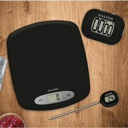 Salter Kitchen Gift Set - Scales, Thermometer + Timer