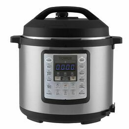 Tower T16013 4.5 Litre 14 in 1 Express Pot Stainless Steel