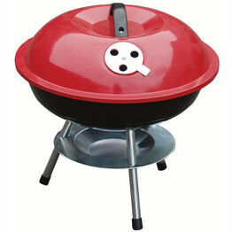 Redwood Round Portable Barbeque 14inch BB-BBQ201