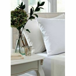Dorma Sateen Pillowcase White