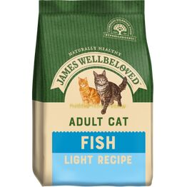 James Wellbeloved Cat Food Light Fish & Rice