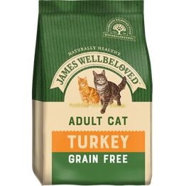 James Wellbeloved Cat Food Grain Free Turkey 300g