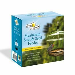 Walter Harrisons Mealworm Feeder with Canopy