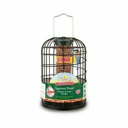 Walter Harrisons Sqiurrel Proof Peanut Feeder 20cm