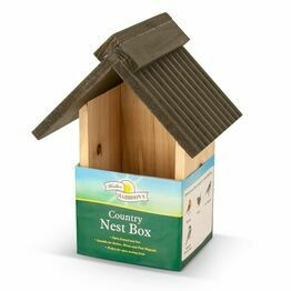 Walter Harrisons Wooden Nest Box Country