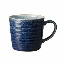Denby Studio Blue Ridged Mug Cobalt/Pebble 410010616