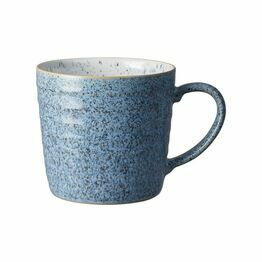 Denby Studio Blue Ridged Mug Flint/Chalk 409010616