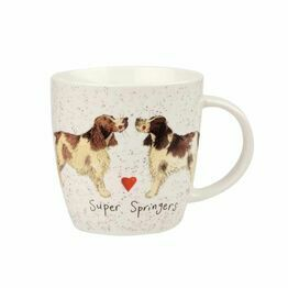 Alex Clark China Squash Mug Super Springers ALCK10321