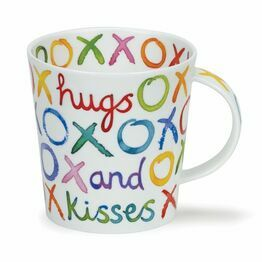 Dunoon Cairngorm Fine Bone China Mug - Hugs and Kisses
