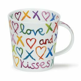 Dunoon Cairngorm Fine Bone China Mug - Love and Kisses