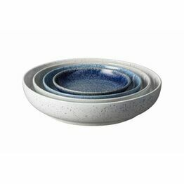Denby Studio Blue Nesting Bowl Set of 4 411040650