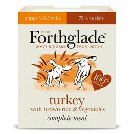 Forthglade Puppy Complete Meal Turkey Brown Rice&Veg 395g