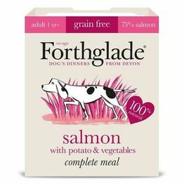 Forthglade Adult Complete Meal Salmon Potato&Veg 395g