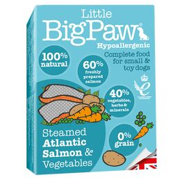 Little Big Paw Dog Tender Salmon & Veg Dinner 150g