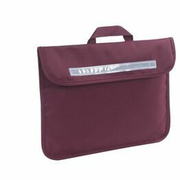 Woodlands Park Primary School Book Bag Maroon