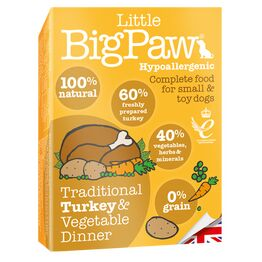 Little Big Paw Dog Tender Turkey & Veg Dinner 150g