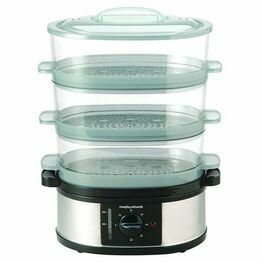 Morphy Richards Steamer 3 Tier Stainless Steel 48755
