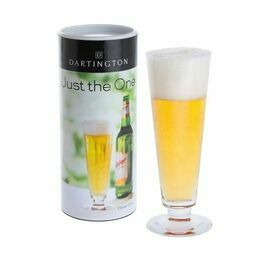 Dartington Pilsner Beer Glass 38cl Just The One DR3180/5