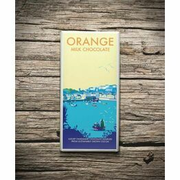 Becky Bettesworth Orange 100g Milk Chocolate Bar