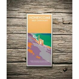 Becky Bettesworth Honeycomb 100g Milk Chocolate Bar