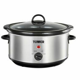 Tower Slow Cooker 3.5ltr Stainless Steel T16039