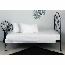 Yasmin Broderie Anglaise Sheet Set White