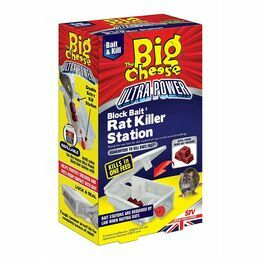 STV Big Cheese Ultra Power Block Bait Rat Killer Station STV566